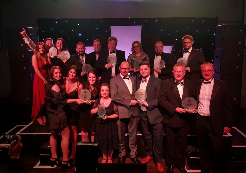 award winners at the halifax courier business awards 2018