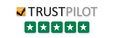 5* TrustPilot Reviews